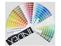 NCS colour chart